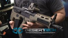 Desert Tech MDR Bullpup: SHOT Show 2014 Was obsessed with a bullpup weapon design idea early on in high school and glad to see it actually solidified.