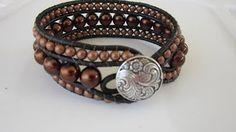 Perles & Co - DIY Bracelet Wrap en Tila Beads - YouTube