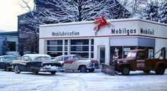 Mobilgas 1950's | Gas stations | Pinterest
