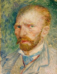 Vincent van Gogh (Zundert 1853 - Auvers-surOise 1890) Autoritratto Aprile - giugno 1887 Olio su cartone, 32,8x24 cm Kröller-Müller Museum, Otterlo, Netherlands