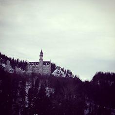«Château de Neuschwanstein - château de Walt Disney  #trip #travel #Holiday #castle #waltdisney #Neuschwanstein #bavière #Germany»