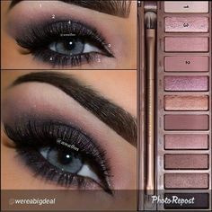 Love this gorgeous eye from @wereabigdeal #gorgeous Perfect for stage! @urbandecay #naked3 #nakedpalette #mua #makeuplover #pageanthairandmakeup