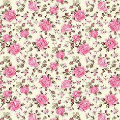 5dd5eff4e9e4b Tricoline Estampado Algodão Floral Rosas Flores