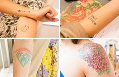 adoro FARM - por dentro da farm: nossas tatoos!