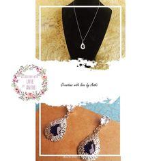 Handmade Accessories, Crochet Necklace, Earrings, Jewelry, Ear Rings, Stud Earrings, Jewlery, Jewerly, Ear Piercings