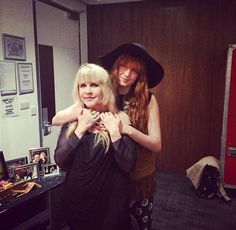 Florence Welch and Stevie Nicks - two of my favourite ladies together!
