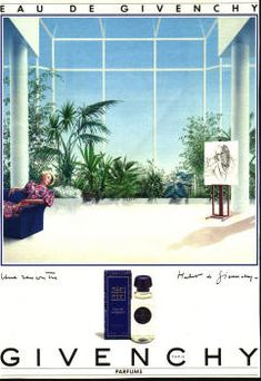 Eau de Givenchy by Givenchy (1986). Blue Perfume, Perfume Ad, Collection