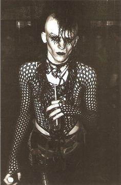 Jonny Slut, 1983 [C. Roff](Get this postcard via:postpunkproject kickstarter)