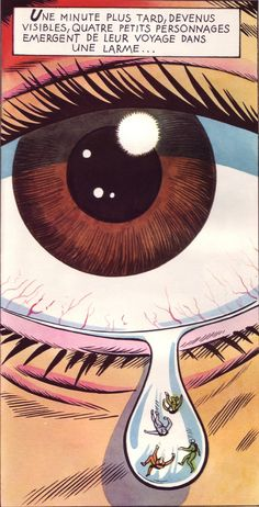 05 Fantastic Voyage, illus. by Peter Wyss after the movie (from Le Livre de Sante, v.1, 1967)