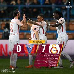 "Galatasaray (@galatasaray): ""Maç sonucu: Kardemir Karabükspor 0-7 #Galatasaray #HEDEF21 #KRBvGS"""
