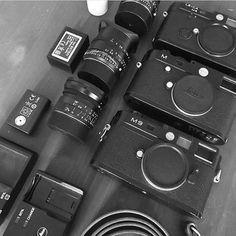 Great kit!  via @kenwagnerphotographer via Leica on Instagram - #photographer #photography #photo #instapic #instagram #photofreak #photolover #nikon #canon #leica #hasselblad #polaroid #shutterbug #camera #dslr #visualarts #inspiration #artistic #creative #creativity