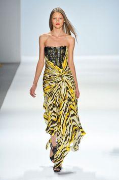 Best Spring 2013 Runway Gowns - Carlos Miele