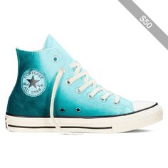 b53614184e76b3 Converse Chuck Taylor All Star Sunset Wash – motel pool rebel teal egret  Sneakers