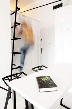 Small Apartment with Secret Storage Ingeniously Designed on a Budget - http://freshome.com/2014/04/30/small-apartment-secret-storage-ingeniously-designed-budget/