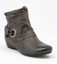 [ wishlist + dark gray bootie ]   #Baretraps // Suzee - Official Online Store - Footwear Unlimited