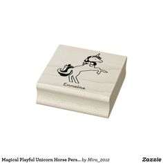 Horse Name Rubber Stamp