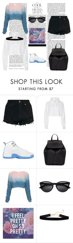 """#StayPoppin"" by bowkam on Polyvore featuring Nicki Minaj, Emma Watson, River Island, Mansur Gavriel, The Ragged Priest and Trademark Fine Art"