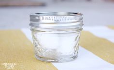 Breathe Jar ~ Peppermint, Lemon Tea Tree Oil. Breathe deeply and put the lid back on. Good read.