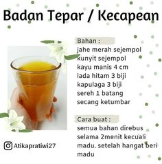Healthy Juice Drinks, Healthy Juices, Healthy Diet Tips, Healthy Life, Healthy Recipes, Natural Cough Remedies, Herbal Remedies, Herb Recipes, Homemade Spices
