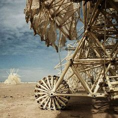 One of Theo Jansen's Amazing Strandbeest Creatures