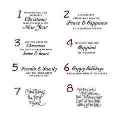 card sentiments sentiments for the inside of christmas cards christmas cards writing christmas messages - Christmas Card Wording