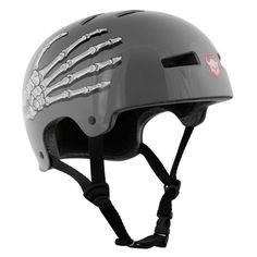 TSG Evolution Graphic Design BMX/Skate Helmet Skullhands