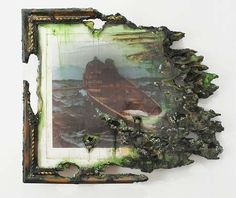 Artiscally Ruined Murals These Portraits by Valerie Hegarty Illustrate the Beauty in Destruction