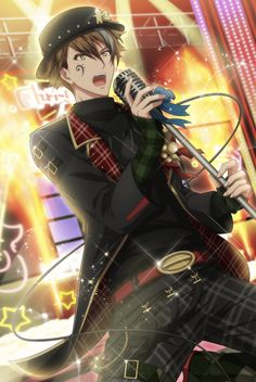 Boys Anime, Cool Anime Guys, Animated Man, Kawaii, Ensemble Stars, Guys And Girls, Cute Boys, Cosplay Costumes, Anime Characters