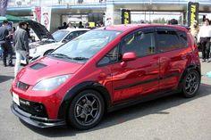 YR-Advance Version-Rデモカー[ハイパーミーティング2007] Mitsubishi Colt, Small Cars, Toaster, Automobile, Vehicles, Car, Toasters, Autos, Miniature Cars
