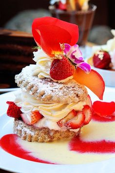 Definitely go to Extraordinary Desserts in San Diego! SO delicious! The gourmet strawberry shortcake was my favorite.