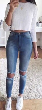 Sweet casual outfit ideas for back to school for 2018 - summer fashion ideas, . - Sweet casual outfit ideas for back to school for 2018 – summer fashion ideas, - Cute Summer Outfits For Teens, Teen Winter Outfits, Casual Outfits For Teens, Teen Fashion Outfits, Red Summer Dresses, Girly Outfits, Simple Outfits, Vintage Outfits, Cool Outfits