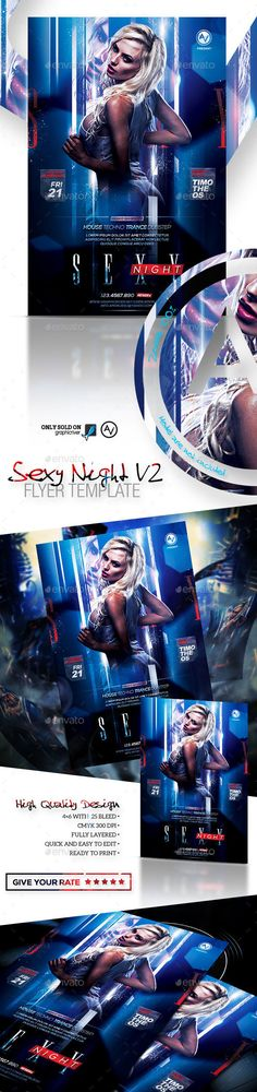 Sexy Night Flyer Template V2