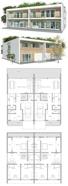 Duplex House A Divided Into Two Apartments With Separate Entrance For Each