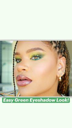 Makeup Inspo, Makeup Inspiration, Makeup Tips, Beauty Makeup, Hair Beauty, Green Eyeshadow Look, Eyeshadow Looks, Pretty Makeup, Makeup Looks
