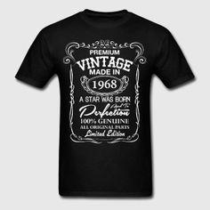 Premium Vintage 1968 T-Shirts - Men's T-Shirt