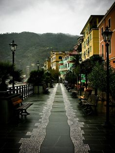 Monterosso, Cinque Terre, Italy. Unfortunately, this beautiful Italy town was heavily damage by a landslide in October and is closed off now. It is my favorite of the five villages.