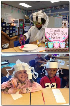 """Help your little scientists make their own """"Einstein Hair.""""  (Blog post from:  Creating Readers and Writers)"""