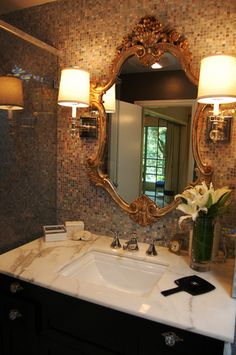 glamorous bathroom mirrors 1000 images about glamorous bathrooms on 12952