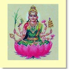 Explore the 8 Forms of Lakshmi: Dhanya-Lakshmi