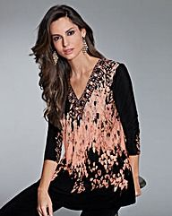 Together Print Jersey Top