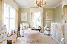Antebellum Graces and Southern Style: Dedicated to Real Estate and Interior Design Traditional Nursery, Room, Interior, Home, Nursery Inspiration, Bedroom Design, Girl Room, Nursery Window Treatments, Interior Design