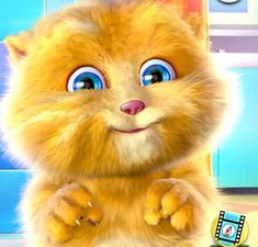 Kids Nursery Rhymes, Rhymes For Kids, My Talking Ginger, Baby Toms, Baby Photos, Happy New Year, Videos, Youtube, Dog Cat