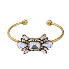 Shinny Floral Open Cuff Bracelet. New Arrival....visit http://www.shforn.com  #jewellery #Bracelet #fashion #shopping #NewArrival #Trends