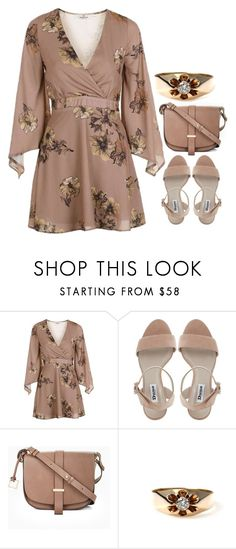 """-"" by emilypondng ❤ liked on Polyvore featuring Topshop and BCBGMAXAZRIA"