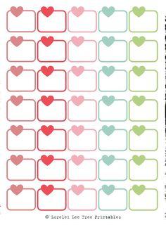 Download - Heart Checklist - Erin Condren Horizontal Download - Daily Tracker - Erin Condren Horizontal Download - Dotted La...