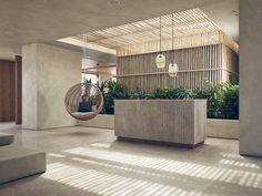 When it comes to getting a hotel ready to greet its guests, a lobby design is a tell-all. The entrance to a brand new world of luxury, these luxurious hotel lob Lounge Design, Design Entrée, Stand Design, Interior Design, Design Ideas, Interior Ideas, Luxury Interior, Chair Design, Hall Hotel