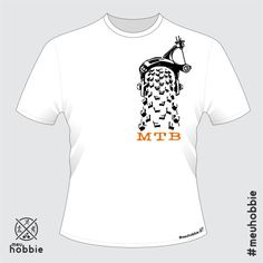 Camiseta mountain bike #meuhobbie mtb break freio Garrincha clássica