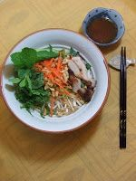 Sugar & Everything Nice: Vietnamese Lemon Grass Grilled Chicken and Rice Noodle Salad