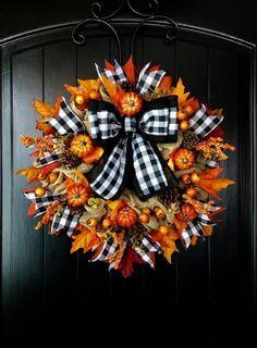 Fall Mesh Wreaths, Autumn Wreaths, Holiday Wreaths, Door Wreaths, Etsy Wreaths, Ribbon Wreaths, Halloween Wreaths, Floral Wreaths, Burlap Wreaths