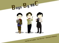 BBC Boys! They are so cute! IRL and not ;D